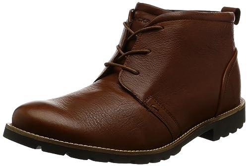 Rockport Mens Charson Chukka Boots V74222 Dark Tan 11 UK, 46 EU