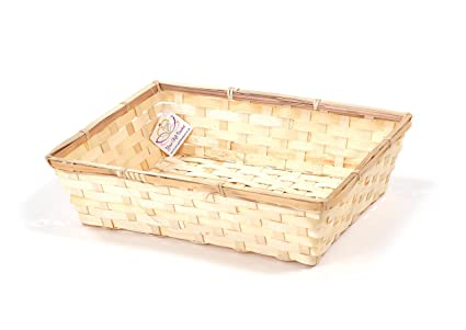 Your Gift Basket Small Bamboo Tray Wholesale Pack Of 20 Amazon