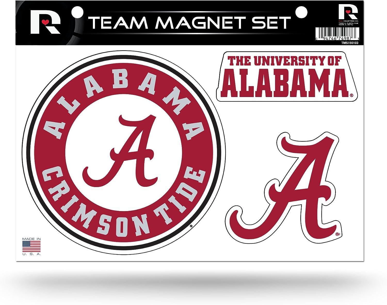 NCAA Die Cut Team Magnet Set Sheet
