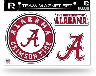 Rico Industries NCAA Unisex 2-Pack Die Cut Team Logo Magnet Set