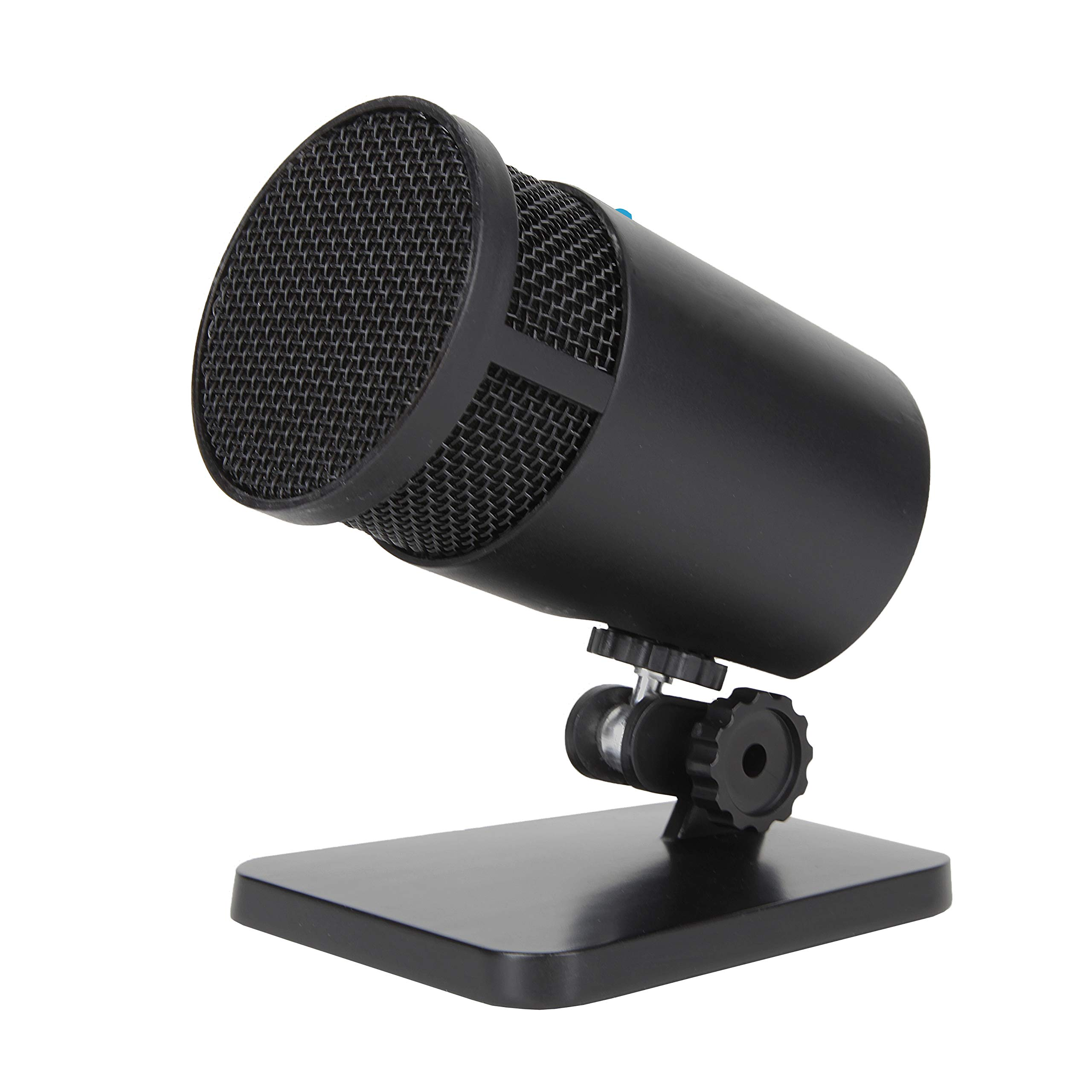 Cyber Acoustics USB Condenser Microphone for Podcasts, Gaming, Vocal, Music, Studio and Computer Recordings - Mic compatible with PC and Mac - Cardioid/Directional Recording Pattern (CVL-2001) by Cyber Acoustics
