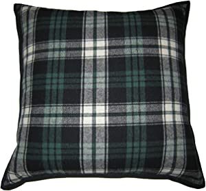 Lauren Ralph Lauren Plaid Green Decorative Throw Pillow, 22 x 22 inches