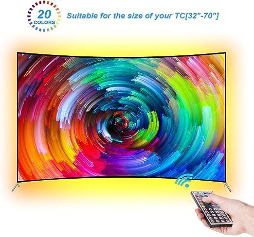 LEBRIGHT Led TV Tira 300cm Bias Iluminación Behind 60 65 70 ...