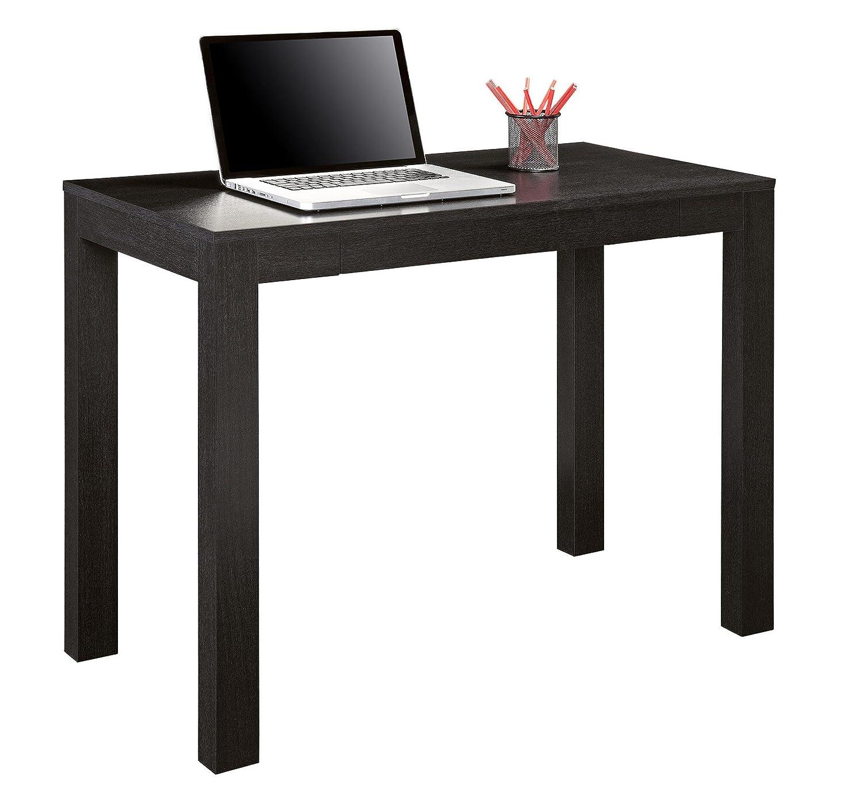 Superior Black Table Desk Part - 7: Amazon.com: Altra Parsons Desk With Drawer, Black Oak: Kitchen U0026 Dining