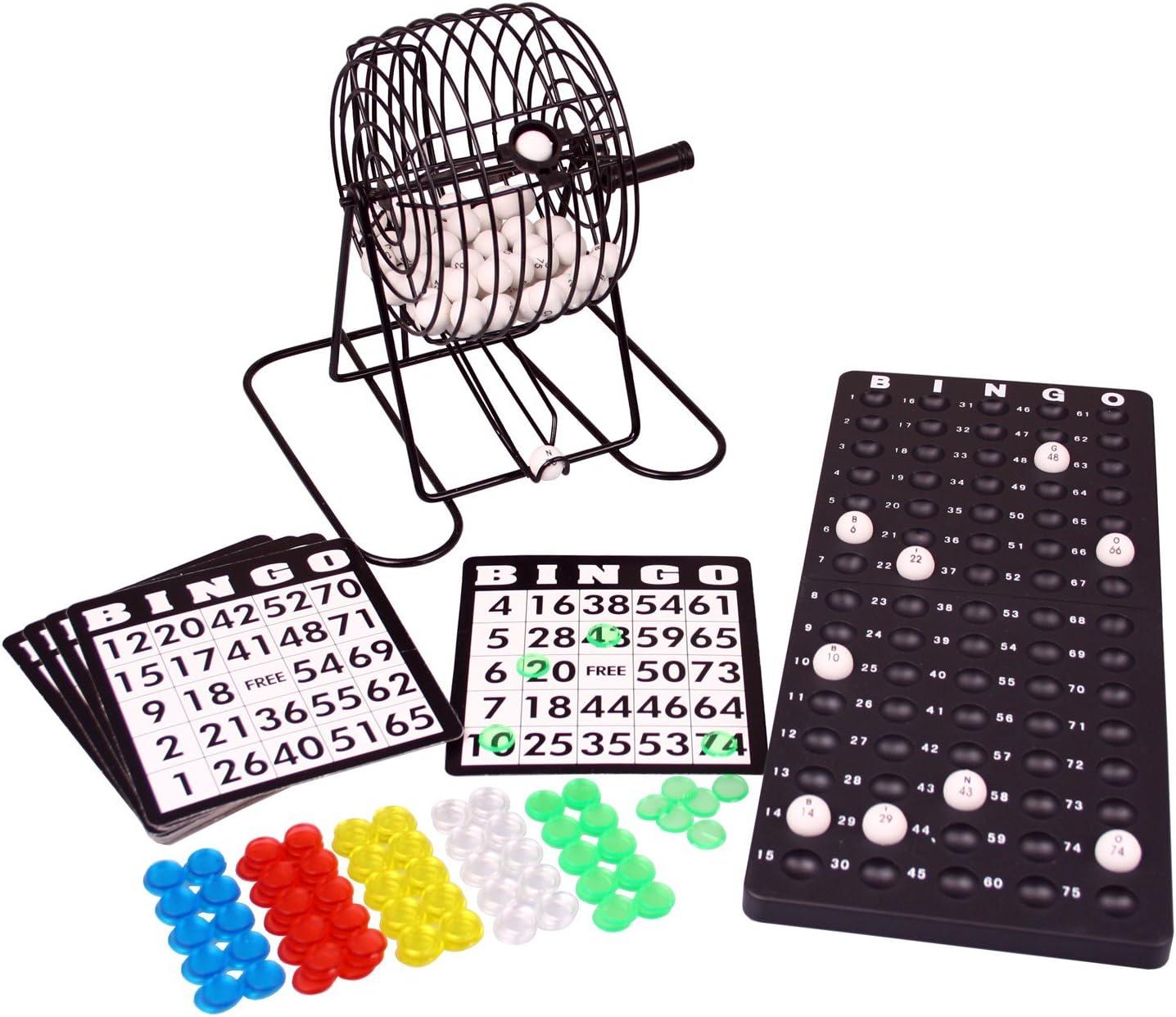 Denny International Bingo Lotto Lotto Unidad de Tambor Juego de ...