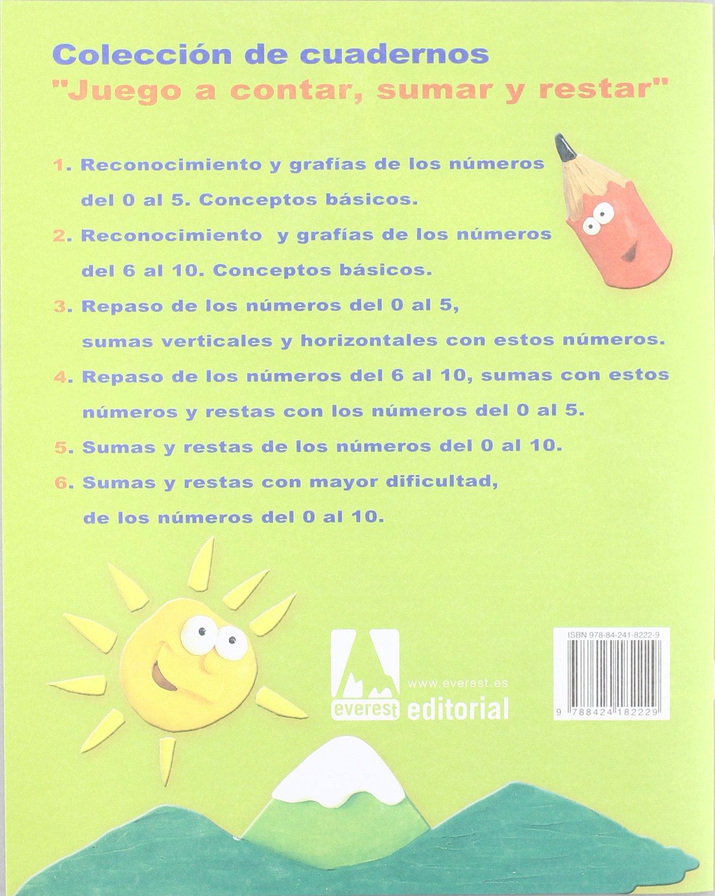 Juego a contar, sumar y restar 4. Fichas de cálculo progresivo -  9788424182229: Amazon.es: Perelétegui Candelas María Amparo, Pérez Cuadrado  Esther, ...