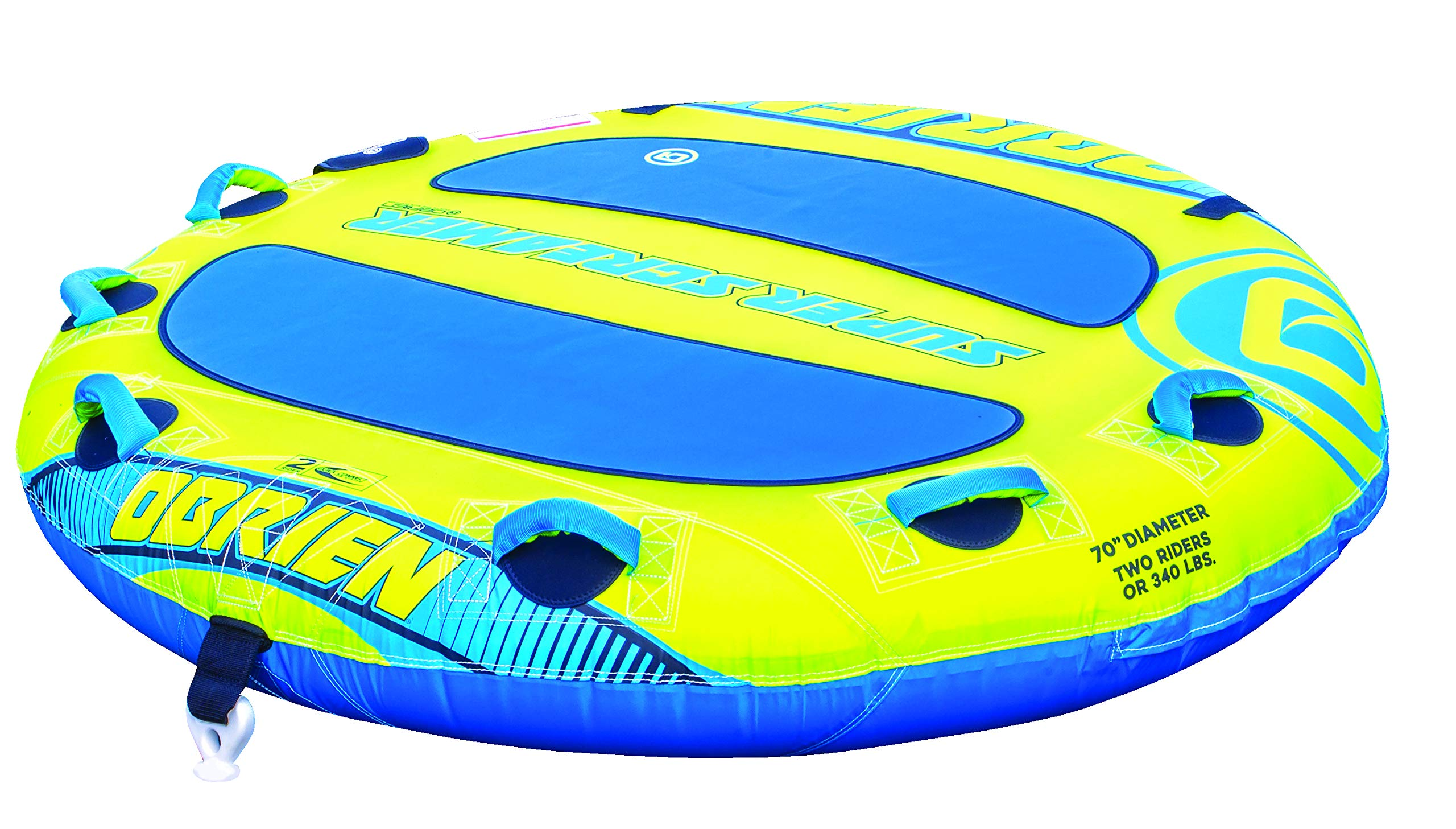 O'Brien Super Screamer , Yellow , 70 Inches