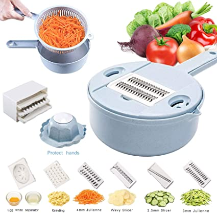 Fruit & Vegetable Tools Spiral Vegetable Slicer Spiralizer Cutter Round Mandoline Potato Julienne Grater Noodle Zucchini Maker Spaghetti Kitchen Tools Fixing Prices According To Quality Of Products Home & Garden