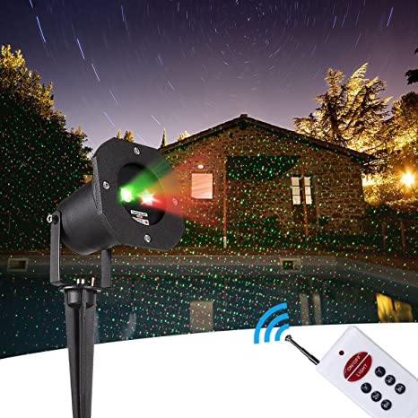 christmas projector lights static red green stars show ip65 waterproof landscape garden led lights for - Led Projector Christmas Lights