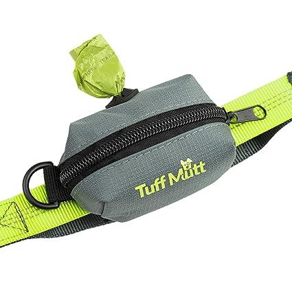 Tuff Mutt – Soporte para Bolsa de Perro, Incluye 1 Rollo de Bolsas de Papel
