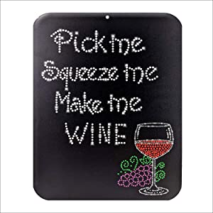 Bar Decor Funny Signs   9 x 12 Inch PVC Wall Signs for Home, Bar, Cafe   Chocolate, Wine, Coffee Wall Decor with Rich Color Printing   Pre-Drilled Hole for Easy DIY Hanging   Matching Shirt Available!