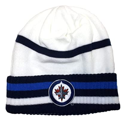 Image Unavailable. Image not available for. Color  Winnipeg Jets Cuffed  Reebok Knit Hat - Osfa ... e91dcba037ee