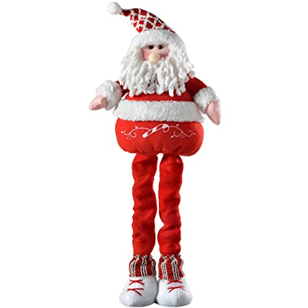 WeRChristmas Free Standing Christmas Santa Decoration with