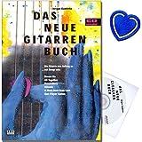 Das neue Gitarrenbuch - Gitarrenschule von Jürgen Kumlehn mit CD - Standardwerk für den modernen Gitarrenunterricht mit bunter herzförmiger Notenklammer