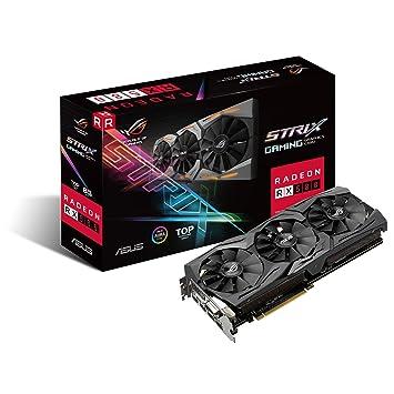 Amazon.com: ASUS ROG-STRIX-RX580-T8G-GAM 8 GB Radeon RX 580 ...