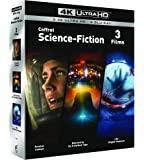 COFFRET SCIENCE-FICTION 4K UHD- Premier Contact / Rencontres du 3e Type / Life : Origne Inconnue - Exclusif Amazon