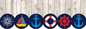 Teacher Created Resources Nautical Big Big Border (TCR8982)