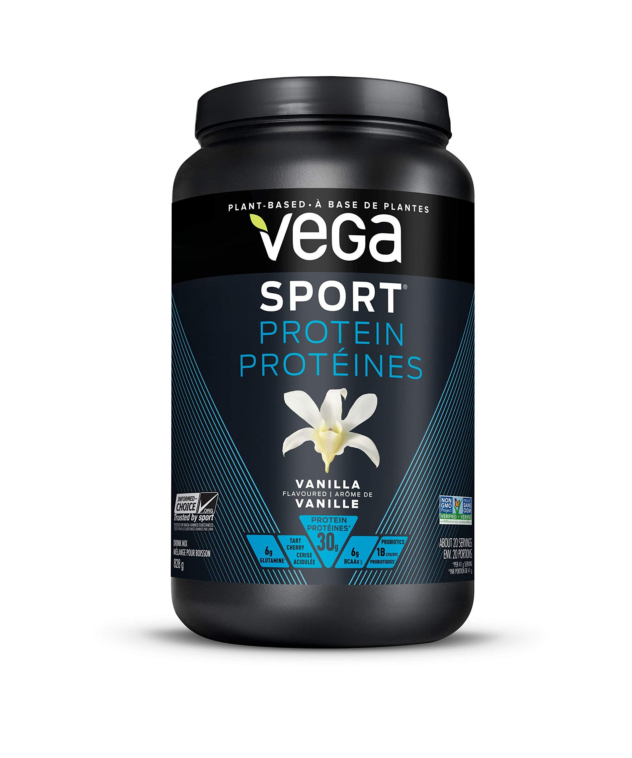 VEGA Sport Protein Vanilla Tub, 828 GR by VEGA