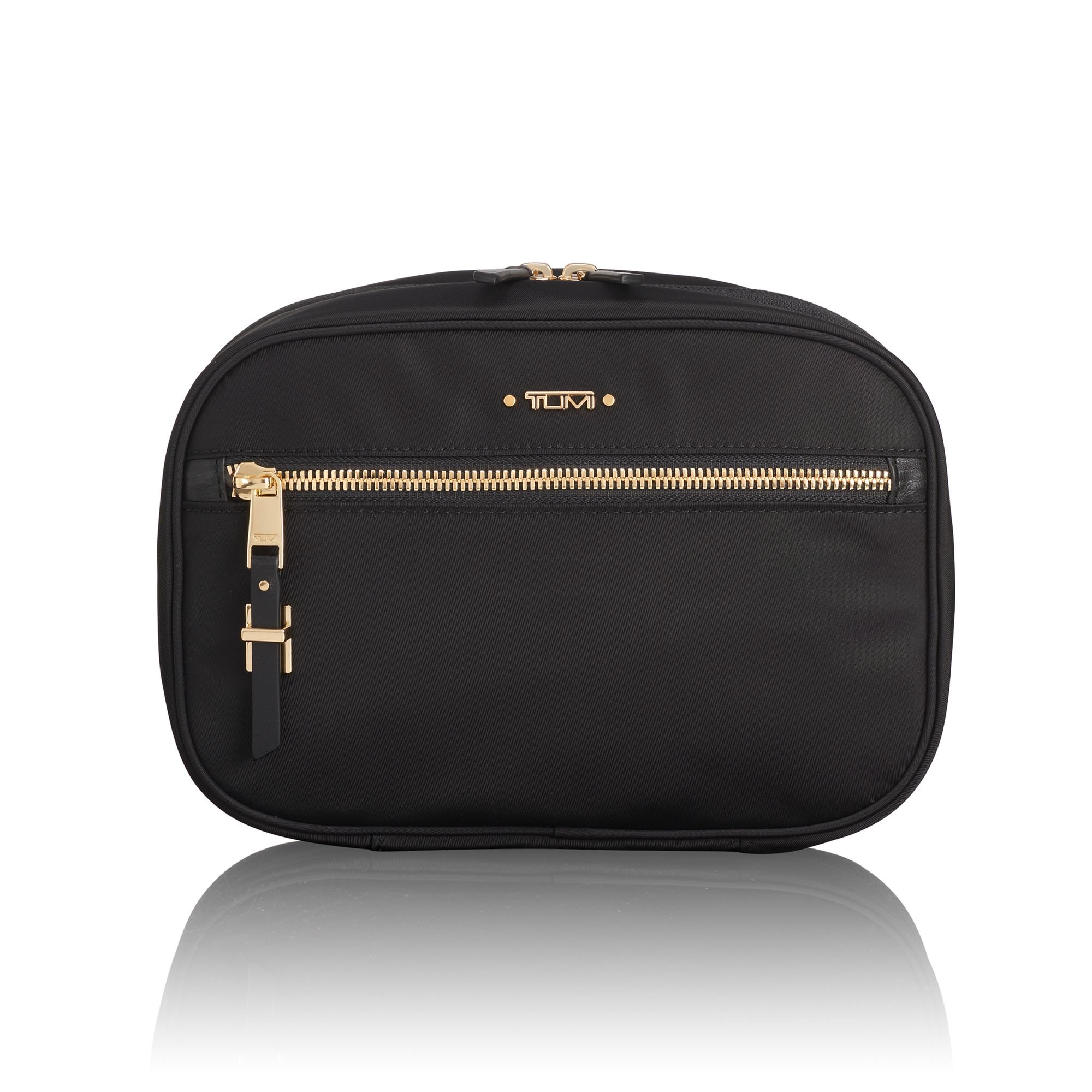 TUMI - Voyageur Yima Cosmetic Bag - Luggage Accessories Travel Kit for Women - Black by TUMI