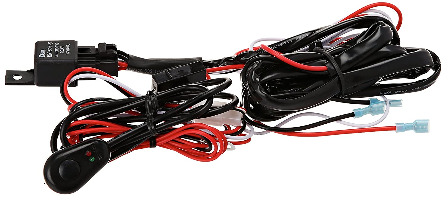 Xprite 2 Leg Off Road ATV/Jeep LED Light Bar Wiring Harness 12 Voltage on