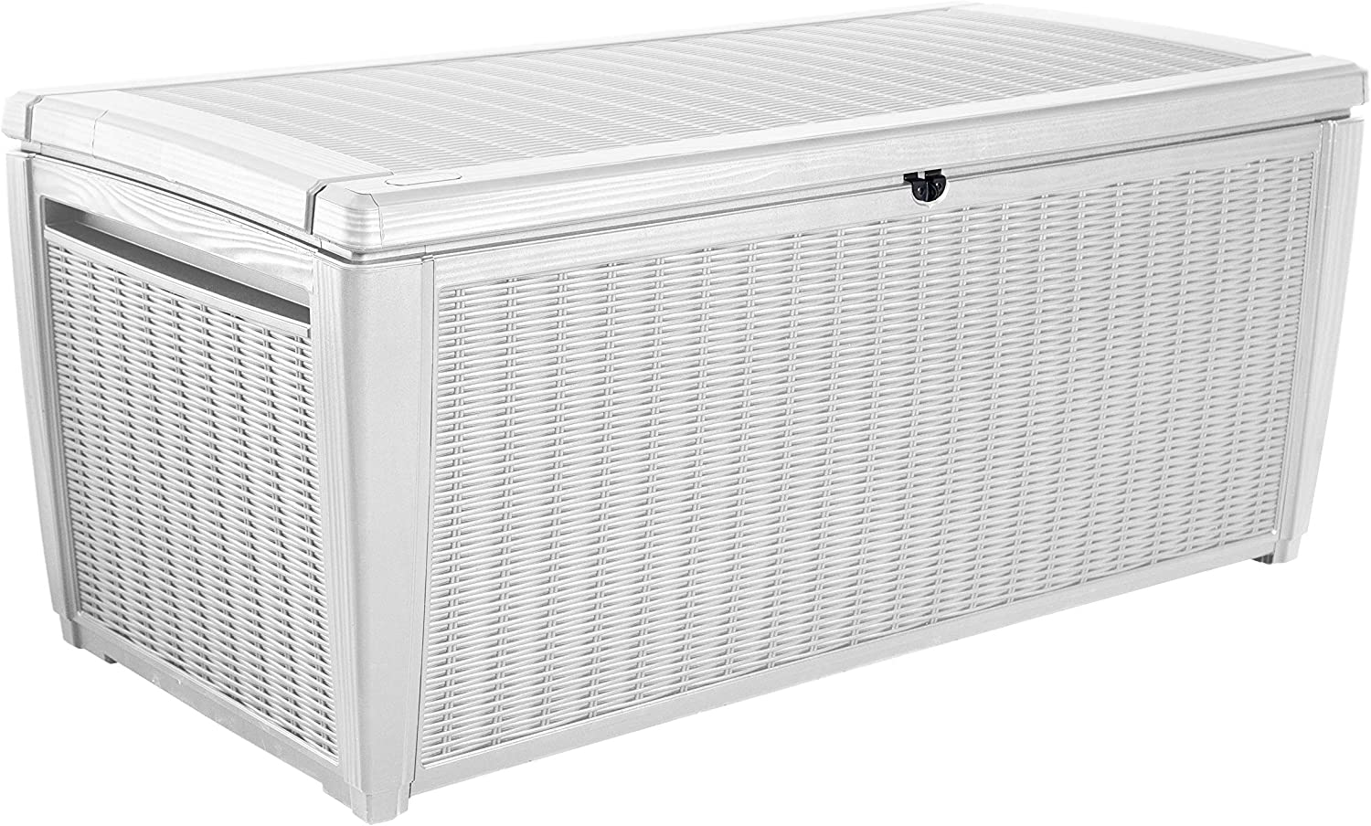 Keter - Arcón exterior Pool Box XXL, Capacidad 511 litros, Color blanco: Amazon.es: Jardín