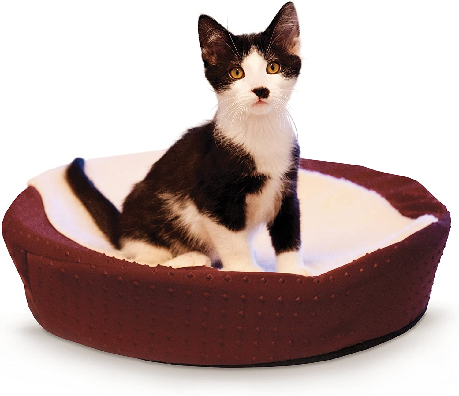 K H Pet Products Ultra Memory Round Cuddle Nest Memory Foam Pet Bed