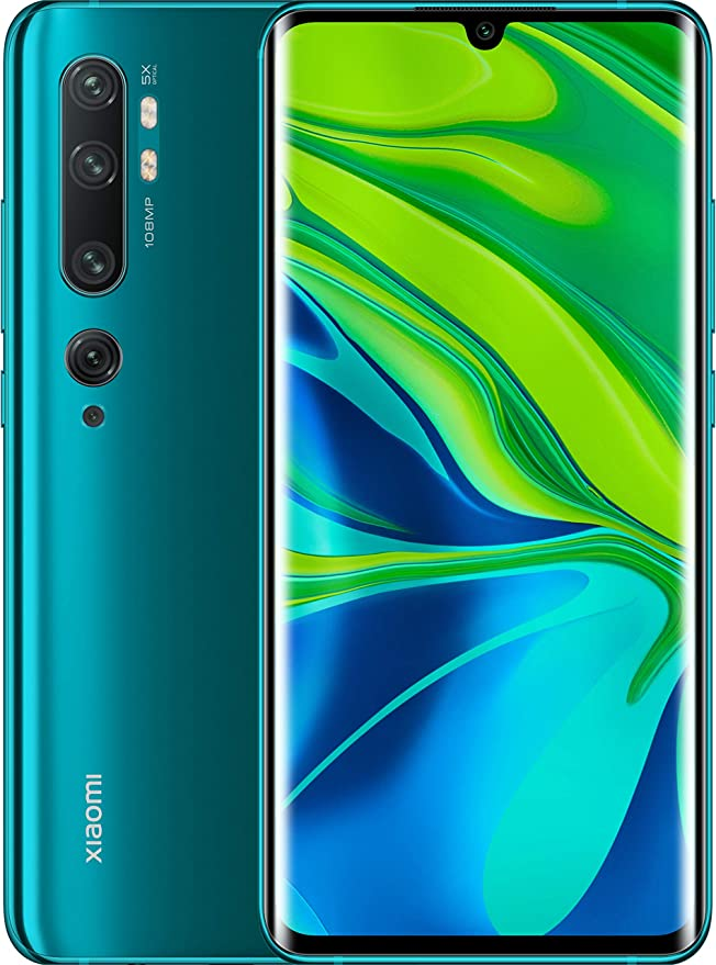 Xiaomi Mi Note 10 - Smartphone (6,47″ 6GB RAM 128GB ROM) Aurora Green: Amazon.es: Electrónica