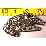 Metal Enamel Pin Badge Star Wars (Starwars) Millennium Falcon (30mm)