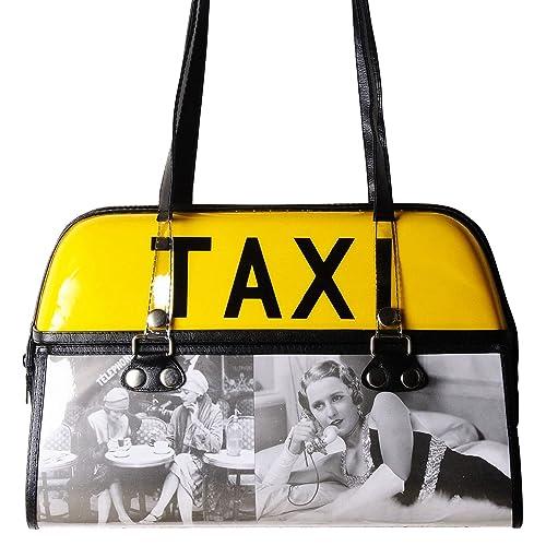 1210aebd37 Amazon.com: Taxi handbag with old times hollywood stars - FREE ...