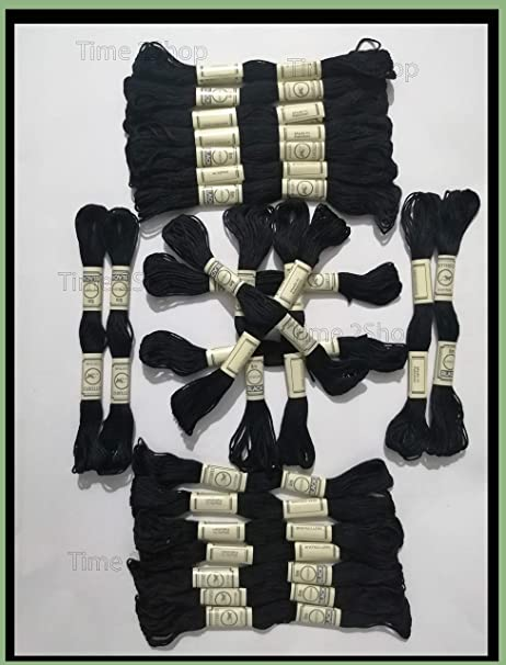 Anchor 24 Madejas de hilo de algodón trenzado de mosca de ...