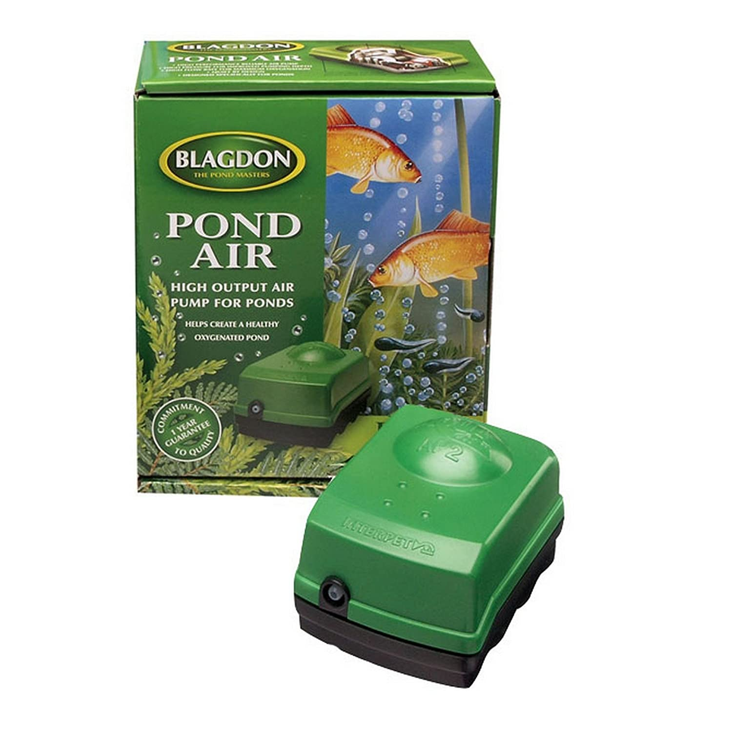 Green One Size Green One Size Interpet Limited Blagdon Air Pump System 2 (One Size) (Green)