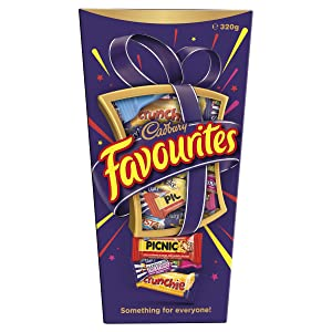 Cadbury Favourites Chocolate Gift Box (Made in Australia) (320g (11.3 oz))