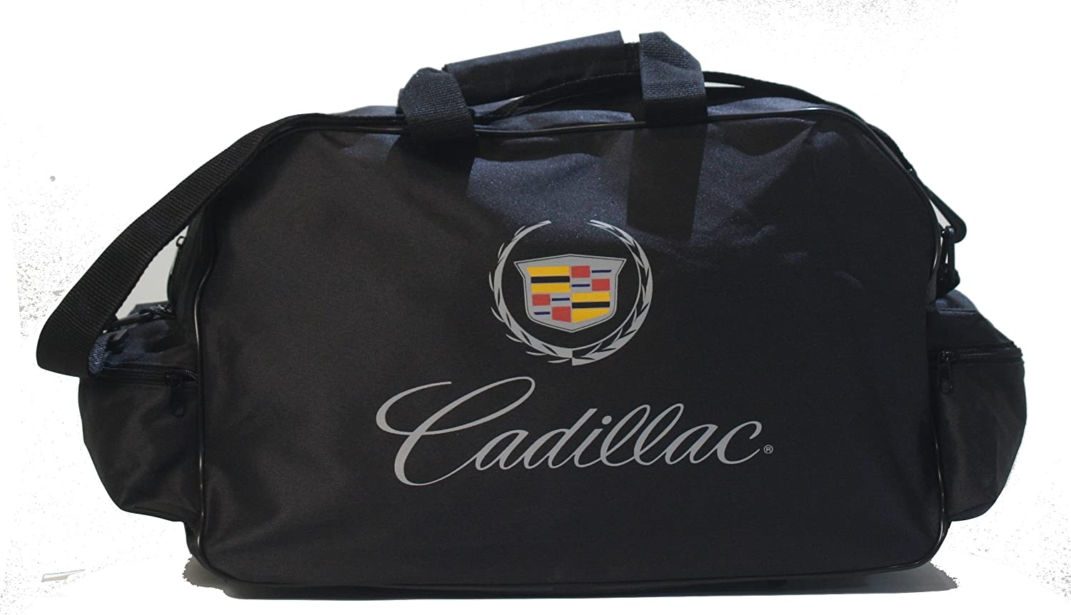 Cadillac Black Logo Duffle Travel Sport Gym Bag backpack