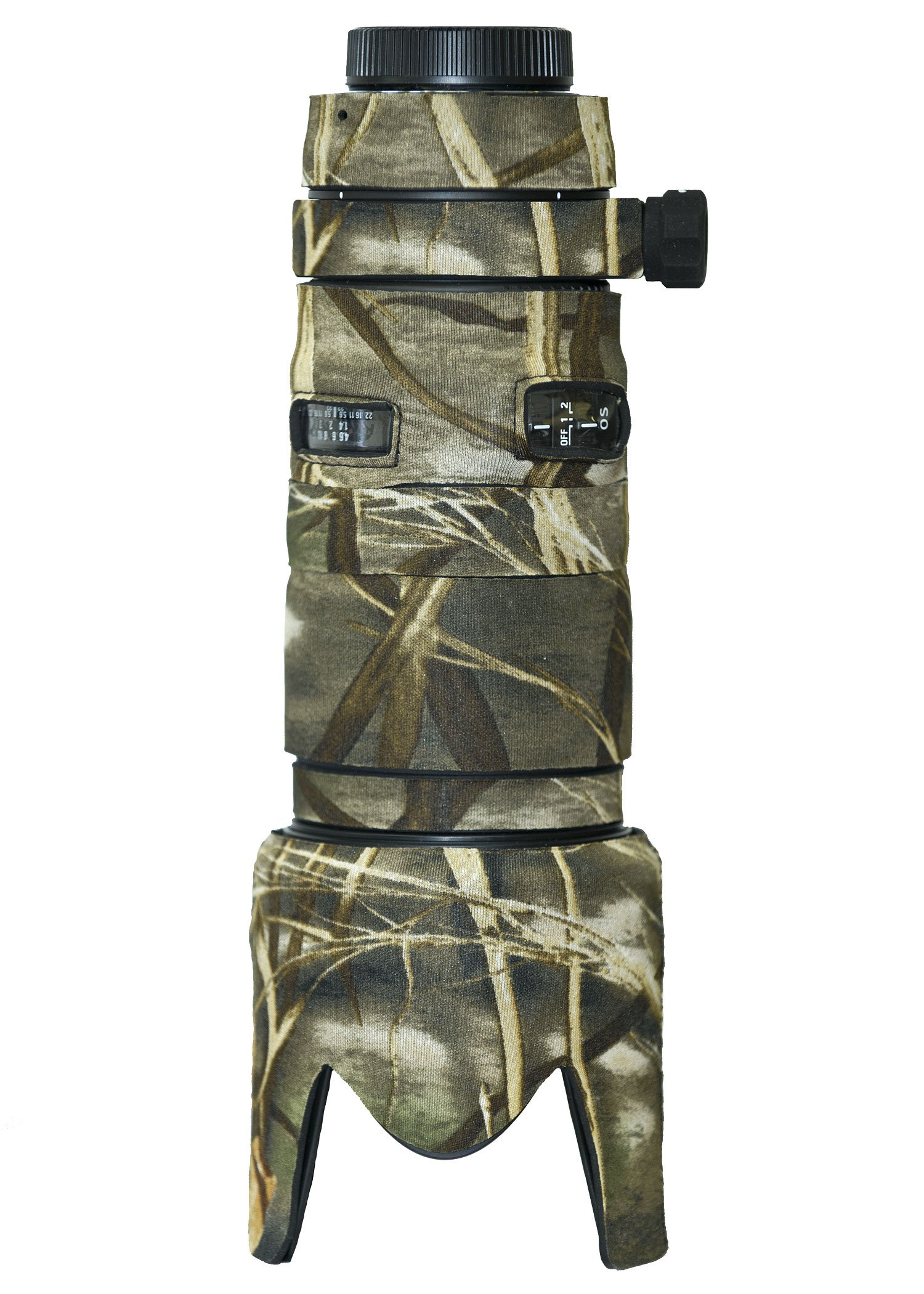 LensCoat Sigma 70-200 2.8 DG OS Lens Cover (Realtree Max4 HD) camouflage neoprene camera lens protection sleeve LCS70200OSM4