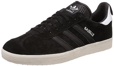 adidas Originals Gazelle Basket Mode Homme - Noir - Nero (Cblack/Cblack/Goldmt), 45 1/3 EU EU