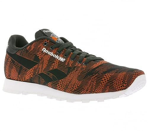b4a72b027a70a Reebok Classic Runner Jacquard TC Sneaker Orange V67889  Amazon.co ...