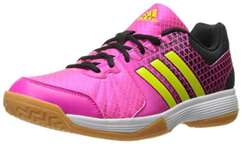 279a7a2b55b7 adidas Performance Women s Ligra 4 W Volleyball Shoe Shock Pink Semi Solar  Slime