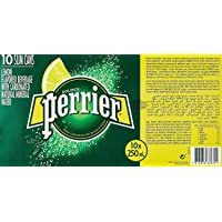Perrier Lemon Can Fridge Pack Perrier Lemon Can Fridge Pk (Pack of 10)