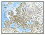 Europe Classic, Tubed: Wall Maps Continents: NG.PC620070 (National Geographic Reference Map)
