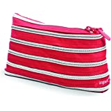 ZIPIT Rainbow Pencil Case, Red