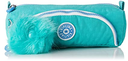 Kipling Cute Estuches, 22 cm, 1 Liters, Azul (Deep Aqua C)