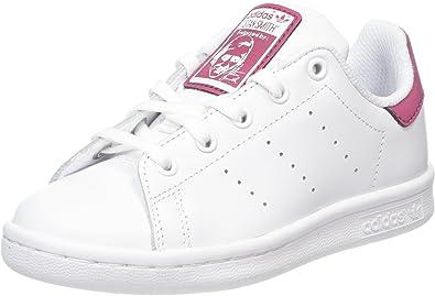 adidas Stan Smith, Sneakers Basses Mixte Bébé, Blanc