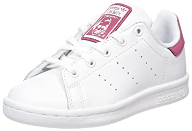 Adidas Stan Smith, Baskets Mixte Enfant, Blanc Footwear White 0, 28 EU