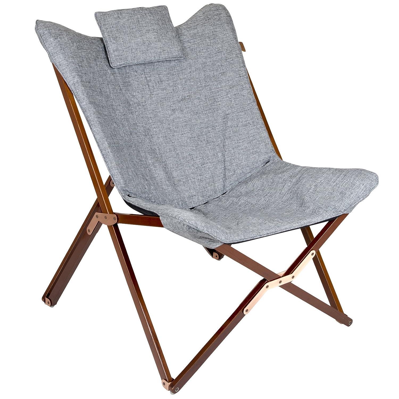 0107 Campingstuhl Klappstuhl Faltstuhl Gartenstuhl Stuhl Klappsessel Outdoor Camping Relaxsessel klappbar 120 kg belastbar mit Tragetasche
