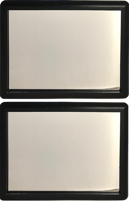 Custom Accessories 53331 Black Visor Vanity Mirror 89966