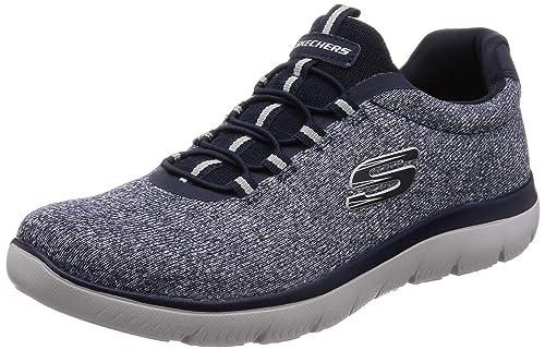 grand choix de nouveau style de pas de taxe de vente Skechers 52813/NVY Sneakers Homme: Amazon.fr: Chaussures et Sacs