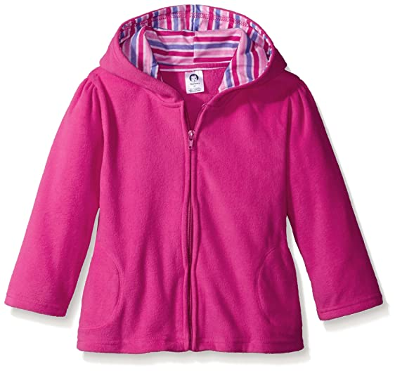 Amazon.com: Gerber Baby Girls' Hooded Micro Fleece Jacket: Clothing