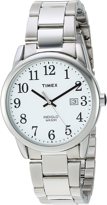 Timex Men's Easy Reader Stainless Steel Bracelet Watch
