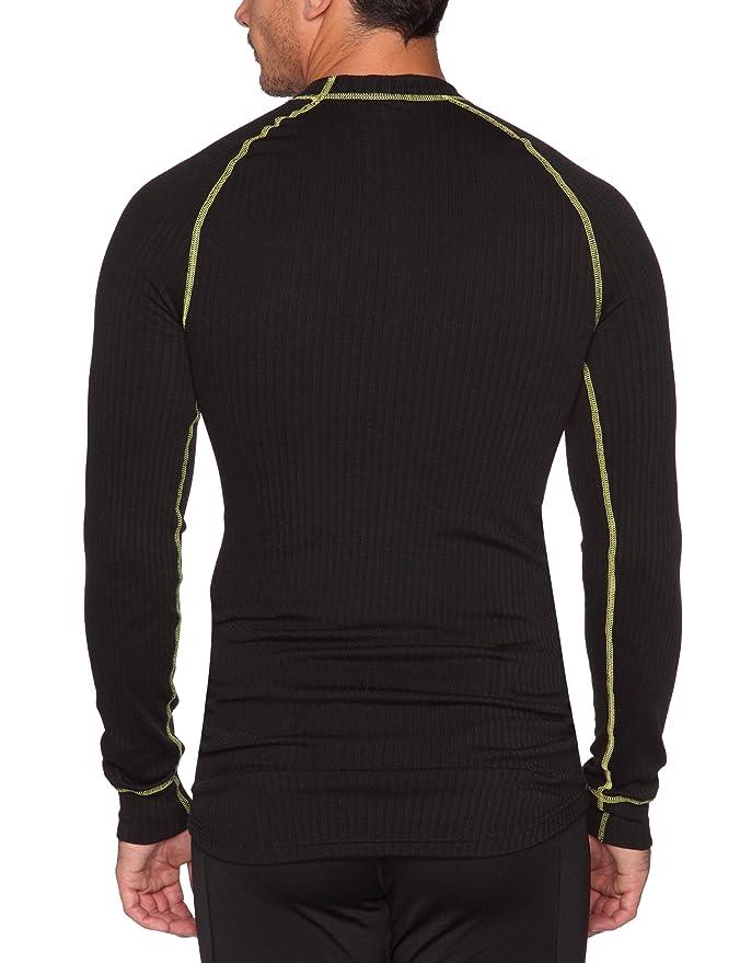Under Armour - Camiseta interior térmica para hombre, tamaño S, color noir/retro - imprimé: Amazon.es: Deportes y aire libre