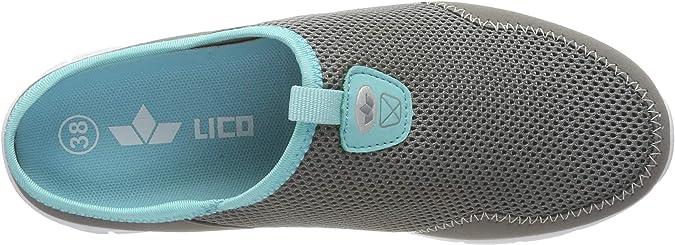 Lico Astor sabot sandalia es señora gris 410051